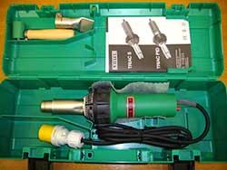 Hot air welding kit